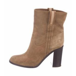 Kate Spade New York Suede Ankle Boots Brown Kate Spade New York Suede Ankle Boots   The RealReal