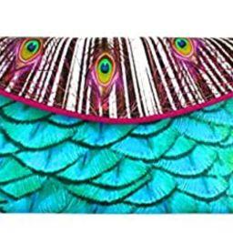 Kent Stetson Designer Peacock Clutch Evening Formal Handbag Pocketbook Purse   Amazon (US)