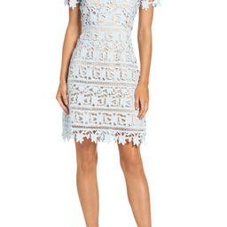 Crochet Overlay Dress   Nordstrom