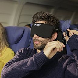 GOSLEEP Travel Pillow - Sleep Mask and Memory Foam Pillow that Prevents Head Bobbing and Blocks Ligh | Amazon (US)