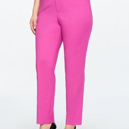 Kady Fit Double-Weave Pant   ELOQUII