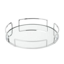 Erela Modern Round Design Mirror Vanity Tray | Wayfair North America