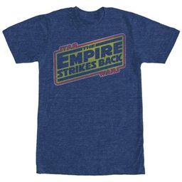 Star Wars- Empire Strikes Back Logo Apparel T-Shirt   Walmart (US)