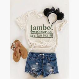 June 30th Shipping//Jambo Shirt//Animal Kingdom Shirt//Safari Shirt//Disney Shirt//Kilimanjaro Safar   Etsy (US)