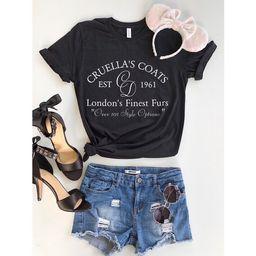 June 30th Shipping//Cruella Shirt//Disney Villain Shirt//Disney Shirt   Etsy (US)