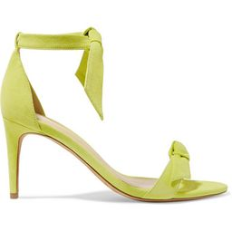 Clarita bow-embellished suede sandals | Net-a-Porter (US)