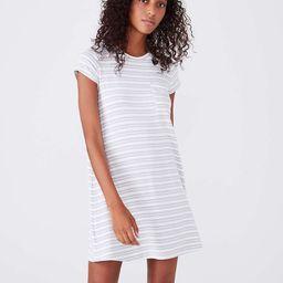 Lou & Grey Striped Signaturesoft Pocket Tee Dress | LOFT