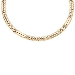 Natalie B Jewelry Viviani Necklace in Gold   Revolve Clothing (Global)