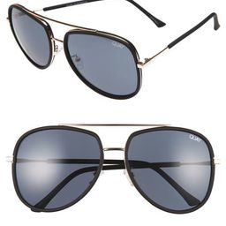 Quay Australia 'Needing Fame' 65mm Aviator Sunglasses | Nordstrom