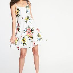 Fit & Flare Tiered Cami Dress for Women | Old Navy US