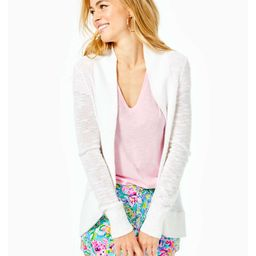 Amalie Open Front Cardigan   Lilly Pulitzer