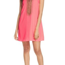 Lilly Pulitzer® Jane Embroidered Shift Dress   Nordstrom