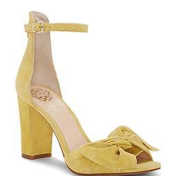 Vince Camuto Women's Carrelen Suede Bow Block Heel Sandals | Bloomingdale's (US)