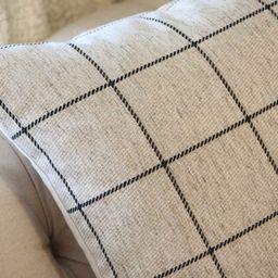 Check Pillow Cover- Black Gray & Ivory Plaid Pillow Cover -Light Gray Ivory Pillow - Throw Pillow -  | Etsy (CAD)