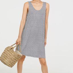 H&M A-line Jersey Dress $12.99 | H&M (US)