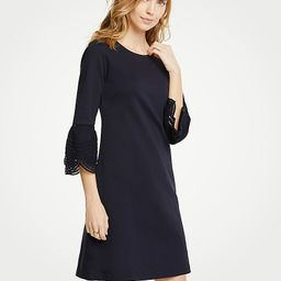 Lace Flare Sleeve Shift Dress | Ann Taylor (US)
