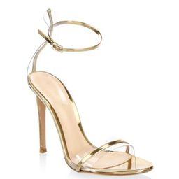 Gianvito Rossi - Portofino Ankle-Strap Sandals | Saks Fifth Avenue