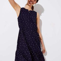 Star Drawstring Dress | LOFT