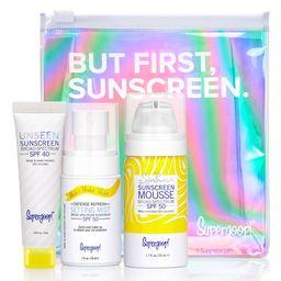 Supergoop! But First, Sunscreen Kit | Nordstrom
