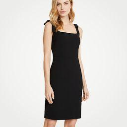 Bow Strap Sheath Dress | Ann Taylor (US)