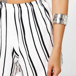 Striped Flippy Shorts   Boohoo.com (US & CA)