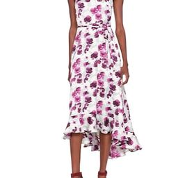 Floral Fit-and-Flare Maxi Dress   Banana Republic US