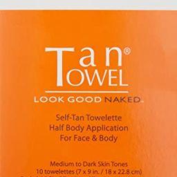 Tan Towel Self Tan Towelette Plus, 10 Count | Amazon (US)