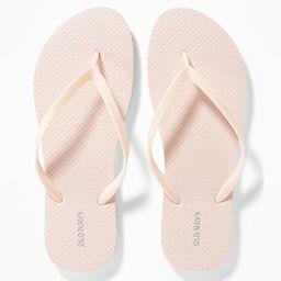 Classic Pastel-Color Flip-Flops for Women | Old Navy US