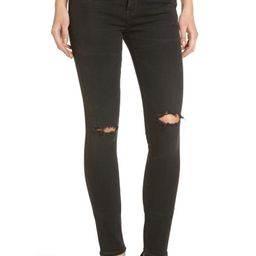 Citizens of Humanity Rocket High Waist Skinny Jeans (Distressed Darkness) | Nordstrom