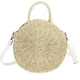 Circle Straw Bag | Shoptiques