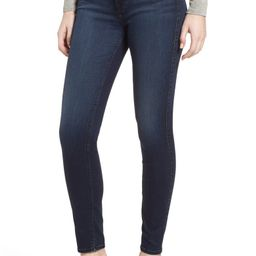 7 For All Mankind® b(air) High Waist Ankle Skinny Jeans (Blue Black Estate) | Nordstrom