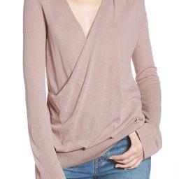 Hinge Surplice Sweater | Nordstrom