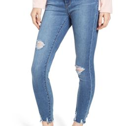 Articles of Society Heather Distressed Ankle Skinny Jeans (Newark) | Nordstrom