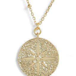 Argento Vivo North Star Medallion Necklace   Nordstrom