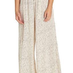 Happy Dance Stripe Wide Leg Pants | Nordstrom