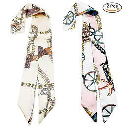 Twilly Neckerchief Scarf for Handbag Handle Silk Scarf Bracelet for Women by Bellagione   Amazon (US)