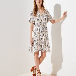 Wildflower Flounce Dress | LOFT | LOFT