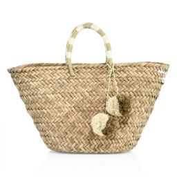 Kayu - St. Tropez Woven Seagrass Tote | Saks Fifth Avenue (CA)