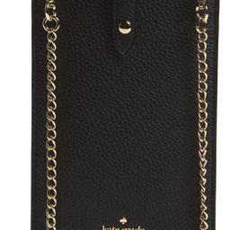 kate spade new york pebbled leather phone crossbody bag | Nordstrom