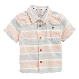 Sovereign Code Stripe Woven Shirt (Baby Boys)   Nordstrom
