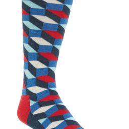 Happy Socks Filled Optic Socks   Nordstrom