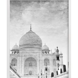 """""""Reflection of the Taj Mahal"""" - Photography Limited Edition Art Print by Heather Marie.   Minted"""