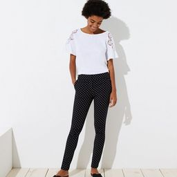 Skinny Polka Dot Ankle Pants in Marisa Fit | LOFT | LOFT