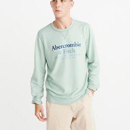 Lightweight Logo Sweatshirt | Abercrombie & Fitch US & UK