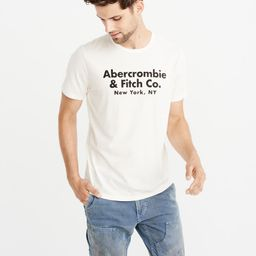 Classic Logo Tee | Abercrombie & Fitch US & UK