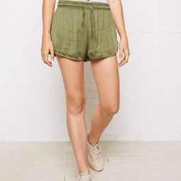 Don't Ask Why Dolphin Short, Olive | American Eagle Outfitters (US & CA)