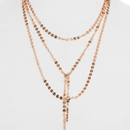 BaubleBar Amber Layered Chain Y-Necklace | Nordstrom
