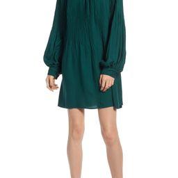 Treasure & Bond Pleated Mini Dress   Nordstrom