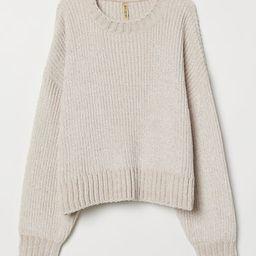 H & M - Rib-knit Sweater - Beige | H&M (US)