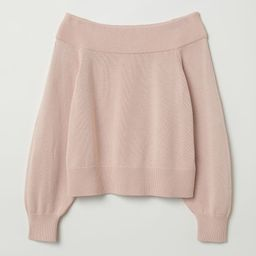Off-the-shoulder Sweater | H&M (US)